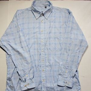 Burberry men's dress shirt size XL